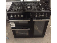New Flavel 90cm dual fuel range cooker comes with warranty and we also deliver