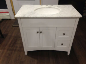 Brand New Bathroom Vanity & Sink Top