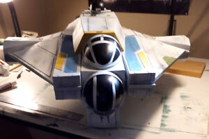 Star Wars: Custom made Ghost vehicle for figures
