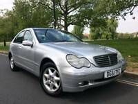 2001/51 REG MERCEDES C180 ELEGANCE AUTOMATIC ** LOW 48,000 MILES ONLY **