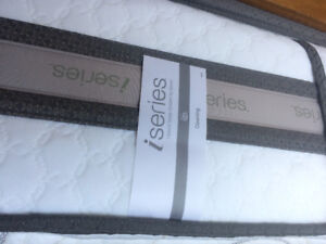 King Size I-series bed and box spring as new 6 months use only