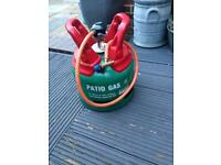 Calor gas patio bottle and regulator
