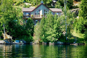 WATERFRONT TREMBLANT REGION FOR RENT- AUGUST 19 -26