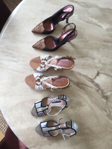 Designer shoes: Michael Kors, Kenneth Cole, French Connection