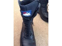 New Black Himalayan Working Boots size UK 10