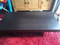 Leather Effect Coffee Table