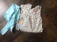 Charlie and Lola top and wrap cardigan Age 4-5 years