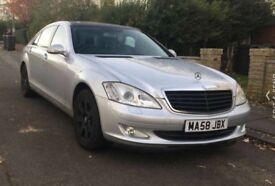Luxury Mercedes S class Executive Package. 1 Year MOT Provided!