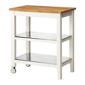 Ikea Stenstorp Kitchen Trolley - good condition - PRICE REDUCED TO MAKE SPACE