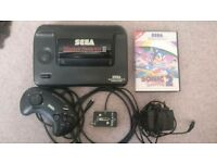 Sega Master System Console with 2 Games