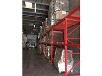 PALLET RACKING MUST BE SEEN SHOP SHELVING RACKING TROLLEYS WAREHOUSE RACKING ALL MUST BE SOLD