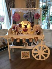 Candy / sweet cart for hire