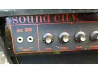 Sound city SC30 vintage amp