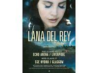 Lana Del Rey - Glasgow - Standing