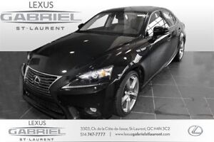 2014 Lexus IS 350 AWD FULLY EQUIPED+NAVIGATION+CAMERA DE RECUL+S