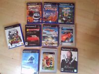 10 PS2 Play Station 2 Games bundle