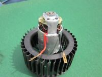 Heater/demister motor, NEW.