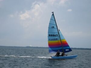 Hobie Cat 16 with trailer and dolly