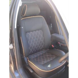 LEATHER CAR SEATCOVERS TOYOTA PRIUS FORD GALAXY VOLKSWAGEN SHARAN TOYOTA PRIUS PLUS PCO/PRIVATEHIRE