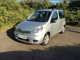 Toyota Yaris verso 1.3 automatic/full service history from Toyota /1 year mot