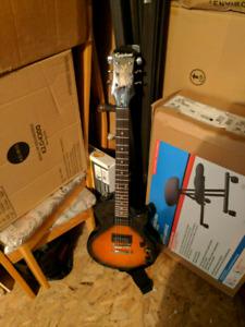 Kit guitare electrique epiphone pour débutant