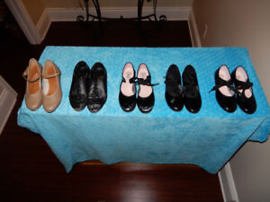 Tap shoes different sizes