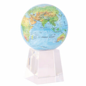 MOVA 4.5 Inch Physical Blue-Ocean Rotating Globe
