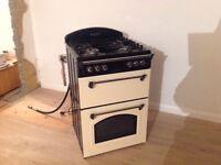 Leisure CLA60GA Classic Gas Cooker, Cream, Very good condition