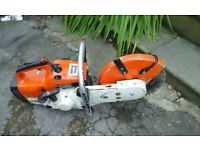 Stihl ts400 cut off saw