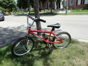 "Red Supercycle Boys Bike  - 19"" frame size - Works Great!"