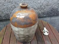 Large Archibald Campbell and Hope whisky Demijohn mid to late 1800's