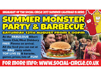 Summer Party and BBQ with Manchester Social Group