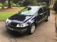 RENAULT MEGANE 1.5 DCi (105bhp) EXSPESSION ESTATE, 1 YEARS MOT