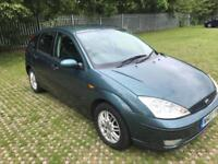 Ford Focus 1.6i 16v 2003MY LX Long mot 05/2018 2 keepers 8 services