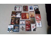 22 x DVD's, of which there are 3 Blu-Ray