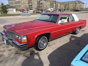 1982 Cadillac coupe deville