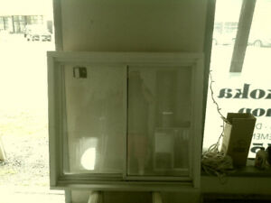 PAIR Vinyl windows For Sale