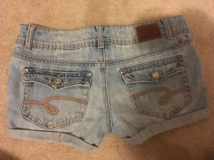 Justice jeans shorts