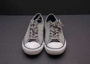 Converse Gray Chuck Taylor (Worn Once)