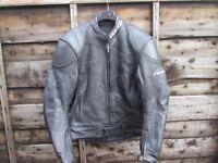 TEKNIC Leather Motorcycle padded jacket