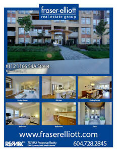 One of the most stylish condos available in Tsawwassen today!