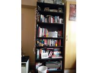 (Priced for Quick Sale) Billy Bookcase (Black - 202cm x 80cm x 28xm) For Sale