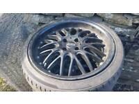 """4x100 17"""" Mini Dotz alloys and tyres"""