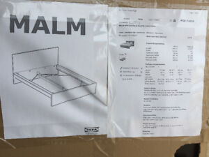 New IKEA queen malm bed frame