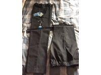 Boys school trousers grey Teenage