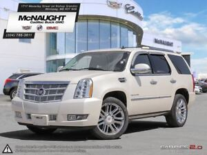 2013 Cadillac Escalade Platinum | Rear DVD | Sunroof | Power Ste