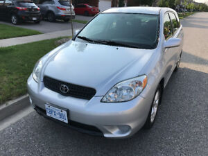 2006 Toyota Matrix XR Hatchback ONE OWNER.