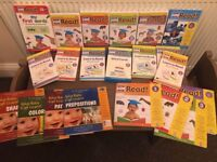 YOUR BABY CAN LEARN / READ big educational set of books / cards / DVDs - POPULAR