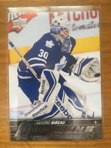 Antoine Bibeau Rookie Hockey Card