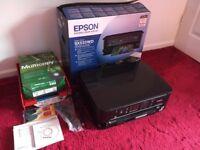 Epson Stylus - SX535WD - Printer Scanner Copy Wifi - Black Used Working - Original Packaging Bundle